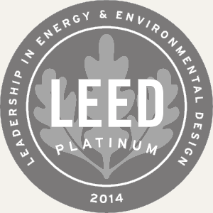 Our approach at praxis for Platinum leed certification