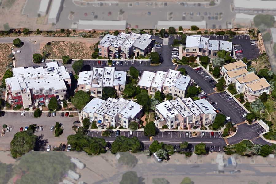 02 The Lofts Cerrillos Road overhead 1