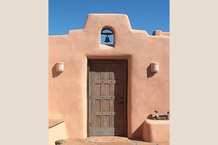 12 Arcos Sobre                           Galisteo door and bell 1