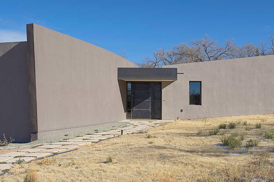 02LE Passive Solar Home exterior 2