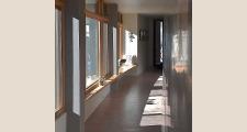 03LE Passive Solar Home hallway 1