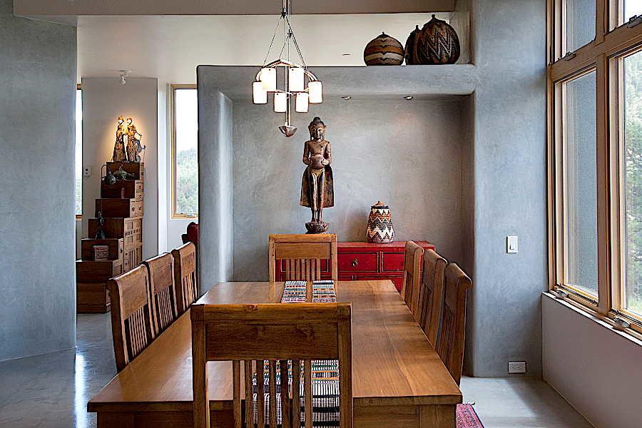 Net Zero House                           dining room 2