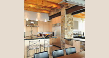 Stone and Steel House dining room                                 1