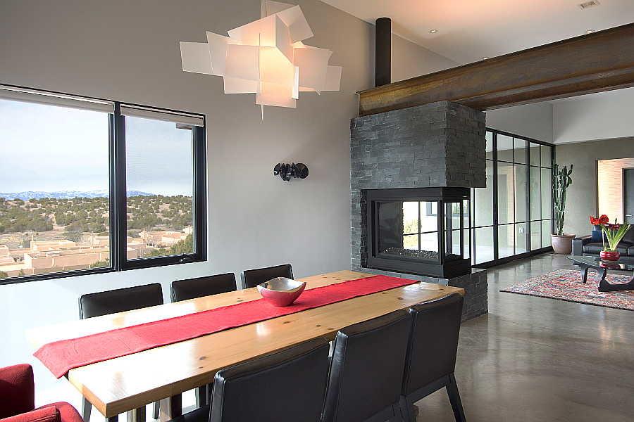 12RM Jemez Vista House dining room 1