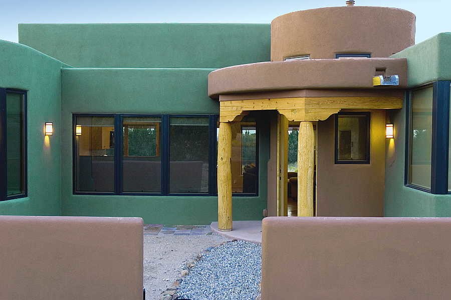04RM Gold Mine Residence entrance 1