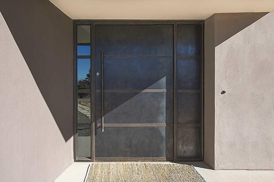 08 Passive Solar                           Home steel door 1