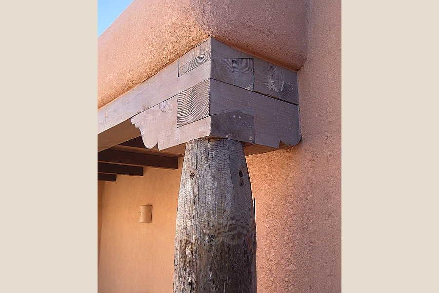 12 Arcos Sobre                           Galisteo beam and post 1