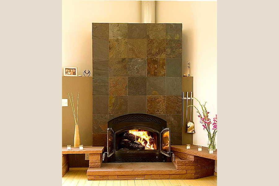 15RM Browne Residence fireplace 2