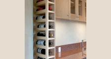 16RM Net-Zero House wine rack 1