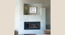 17 Net-Zero House fireplace 1
