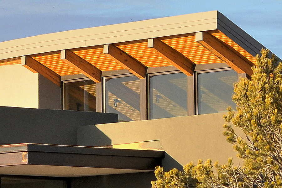 18RM Stone and Steel House exterior clerestory 1