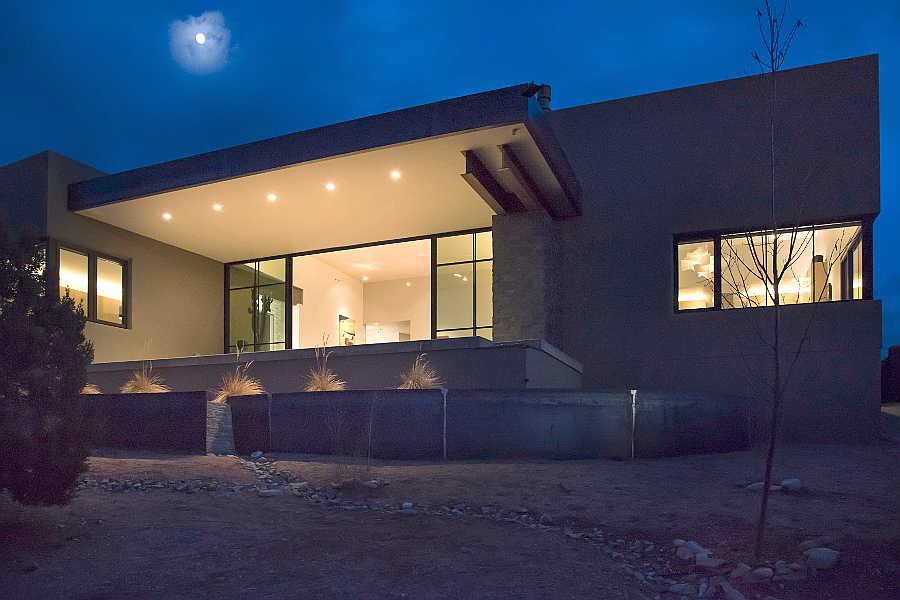 20 Jemez Vista                           House exterior twilight 1