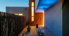 01CU Platinum Cantilever Home nightshot 1