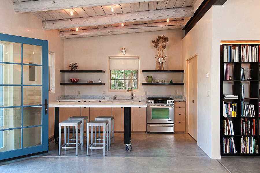 03RM Tesuque Casita kitchen 1