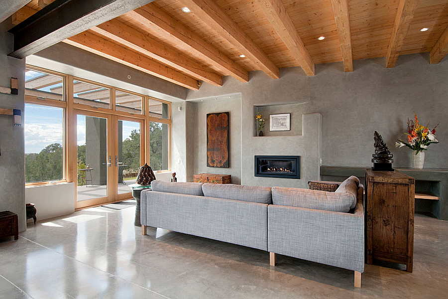 01LE Net-Zero House living room 1