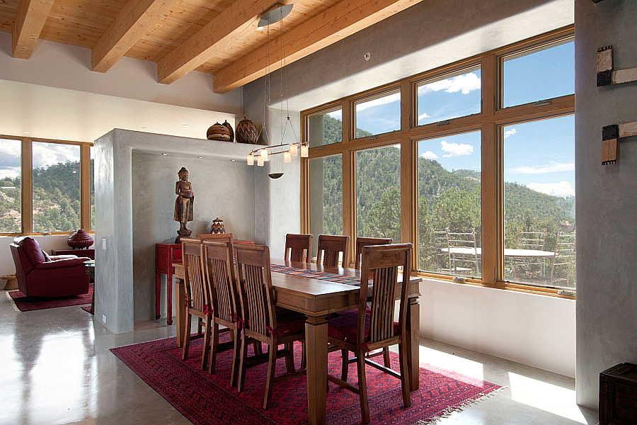 02LE Net-Zero House dining room 1