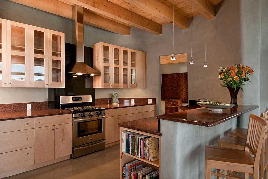 05LE Net-Zero House kitchen 1